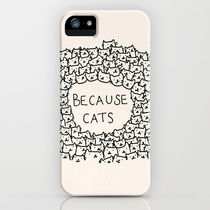 Society6 Because cats by Kitten Rain