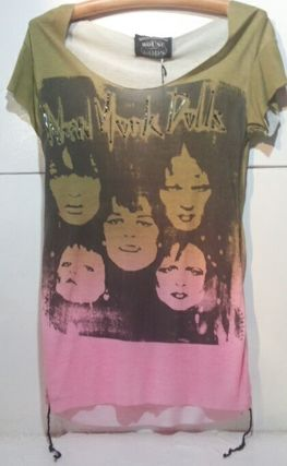 "Tシャツ・カットソー House Of The Gods"" New York Doll ""Colour Fade Tee"