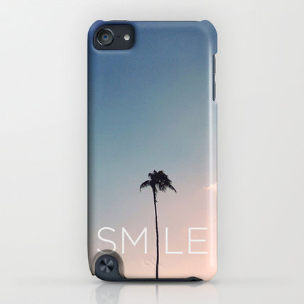 Society6 iPhone・スマホケース Society6 Palm tree Smile by Goldfish Kiss(4)