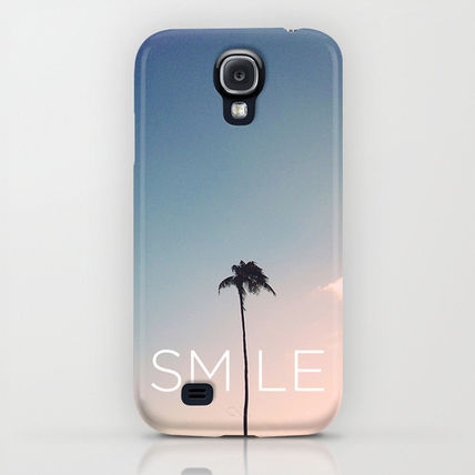 Society6 iPhone・スマホケース Society6 Palm tree Smile by Goldfish Kiss(5)