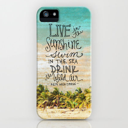 Society6 iPhone・スマホケース Society6 Live In The Sunshine - Photo Inspiration