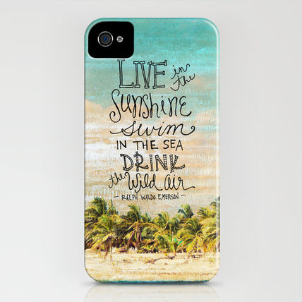 Society6 iPhone・スマホケース Society6 Live In The Sunshine - Photo Inspiration(3)