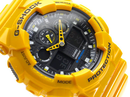 CASIO G-SHOCK Newコンビネーションモデル GA-100A-9A