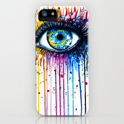 Society6 iPhone・スマホケース Society6 Rainbow Eye