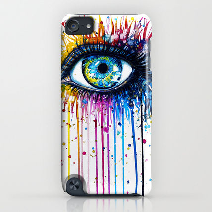 Society6 iPhone・スマホケース Society6 Rainbow Eye(4)
