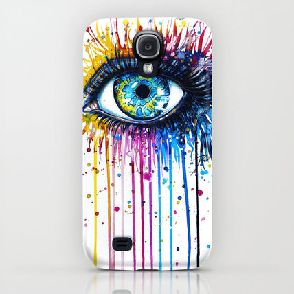 Society6 iPhone・スマホケース Society6 Rainbow Eye(5)