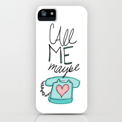 Society6 iPhone・スマホケース Society6 Call Me Maybe by Leah Flores Designs