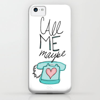 Society6 iPhone・スマホケース Society6 Call Me Maybe by Leah Flores Designs(3)