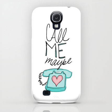 Society6 iPhone・スマホケース Society6 Call Me Maybe by Leah Flores Designs(5)
