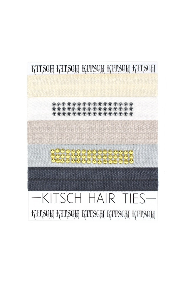 ☆KITSCH メール便送料無料!!国内即納!!ヘアゴム STUDDED