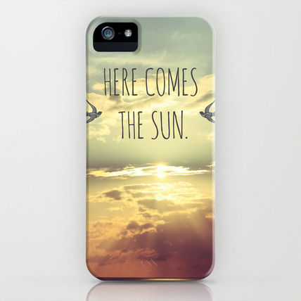 Society6 iPhone・スマホケース Society6 Here Comes The Sun by Sabine Doberer