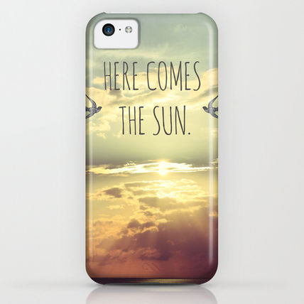 Society6 iPhone・スマホケース Society6 Here Comes The Sun by Sabine Doberer(3)