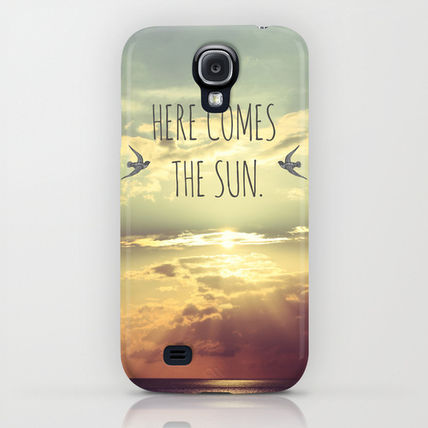 Society6 iPhone・スマホケース Society6 Here Comes The Sun by Sabine Doberer(5)