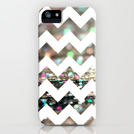 Society6 iPhone・スマホケース Society6 Afterparty Chevron by Beth - Paper Angels Photograp