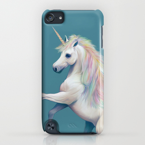 Society6 Unicorn by ShannonPosedenti