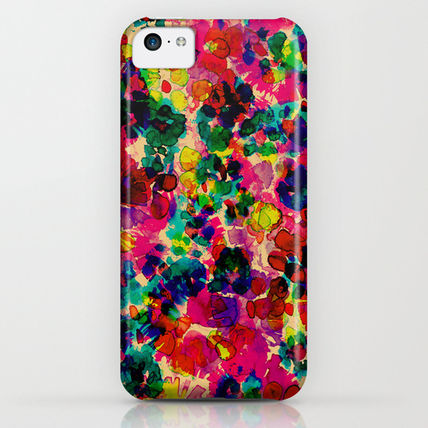 Society6 スマホケース・テックアクセサリー Society6 Floral Explosion by Amy Sia(3)