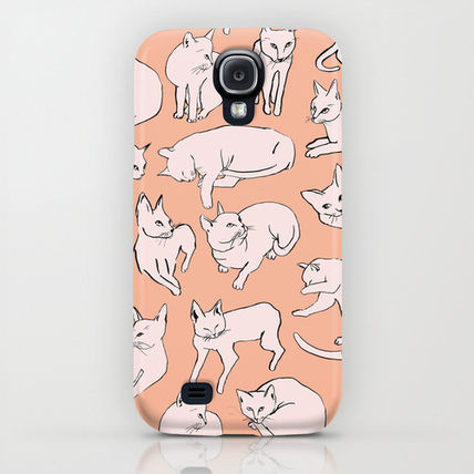 Society6 iPhone・スマホケース Society6 Picasso Cats by Leah Reena Goren(5)