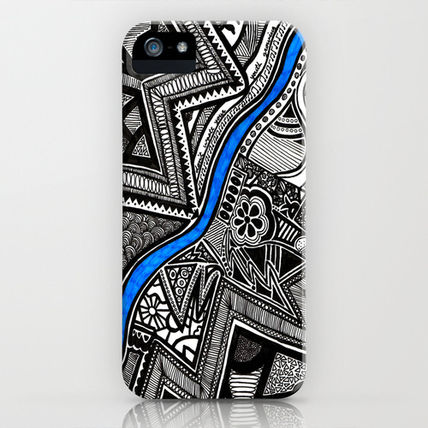 Society6 iPhone・スマホケース Society6 Flow by Creative Chaos