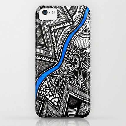 Society6 iPhone・スマホケース Society6 Flow by Creative Chaos(3)