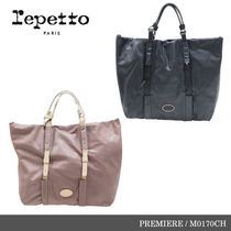 【repetto】PREMIERE Make up Calfskin Leather Purse