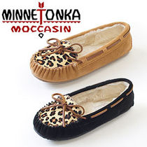 梨花愛用♪【Minnetonka】新作 Leopard Cally Slipper