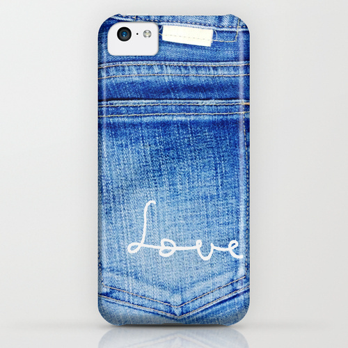 Society6 I love jeans3 by M366