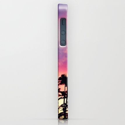 Society6 iPhone・スマホケース Society6 1980's sunset and quote by Goldfish Kiss(2)