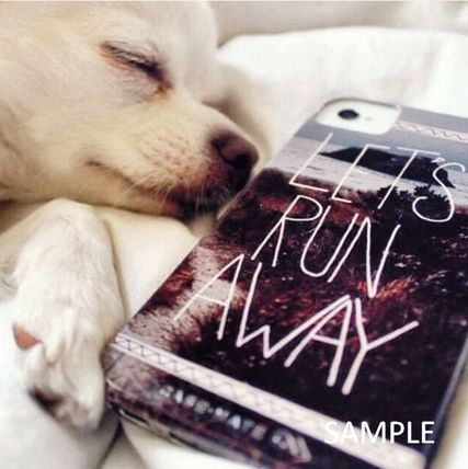 Society6 iPhone・スマホケース Society6 1980's sunset and quote by Goldfish Kiss(8)