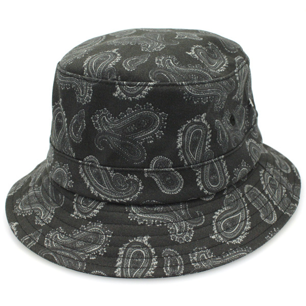 Supreme FW13 Paisley Crusher Hat Black size S/M