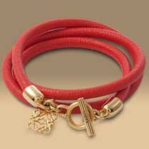 【VIPセール】LOEWE★ロエベ┃TRIPLE WRAP LEATHER BRACELET