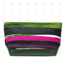 KATE SPADE SATURDAY(ケイトスペードサタデー) ポーチ ケイトスペードSATUDAY☆ utility pouch in sunset stripe