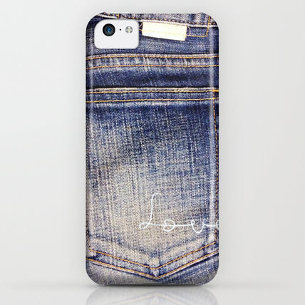 Society6 iPhone・スマホケース Society6 I love jeans 2 by M366