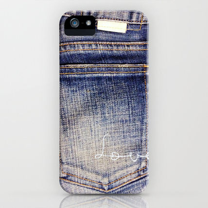 Society6 iPhone・スマホケース Society6 I love jeans 2 by M366(2)