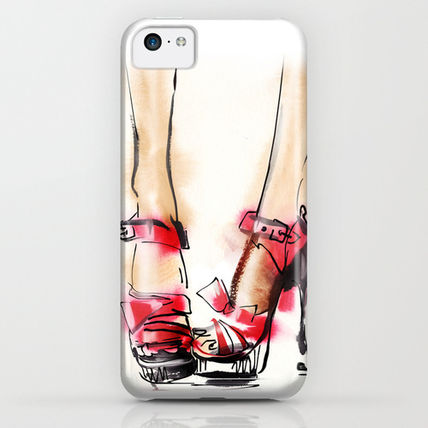 Society6 iPhone・スマホケース Society6 Red shoes by Tatiana-teni