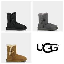 ★UGG子供用 KIDS BAILEY BUTTON 人気3色 Size:5,6★