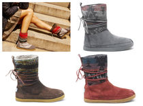 ★TOMS : Nepal Boots プリント 人気3カラー★