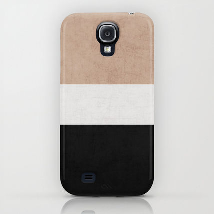 Society6 iPhone・スマホケース Society6 classic - natural, cream and black by Her Art(5)