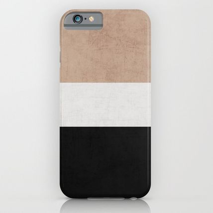 Society6 iPhone・スマホケース Society6 classic - natural, cream and black by Her Art(6)