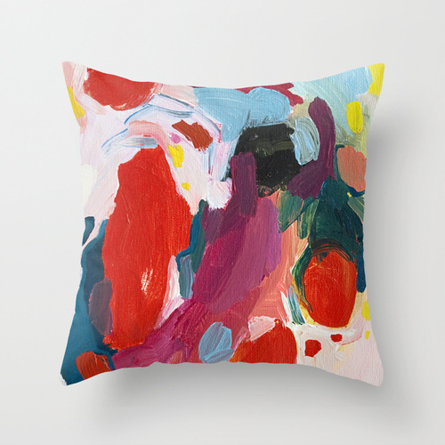 Society6★クッション★Color Study No. 1 by Emily Rickard