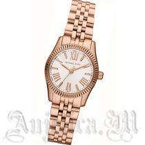 ★New★Michael Kors Lexington White Dial Rose Gold