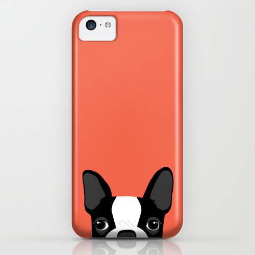 Society6 ケース Boston Terrier by Anne Was Here