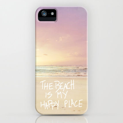 Society6 iPhone・スマホケース Society6 ケース the beach is my happy place(2)