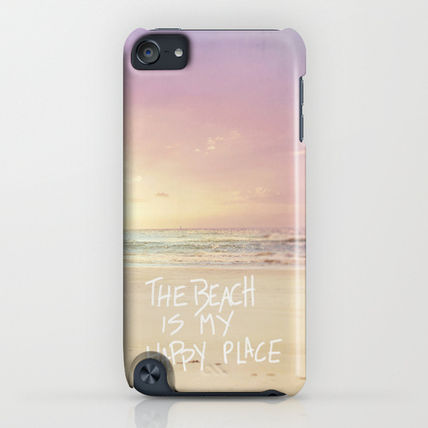 Society6 iPhone・スマホケース Society6 ケース the beach is my happy place(4)