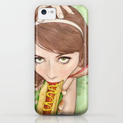 Society6 iPhone・スマホケース Society6 ケース Life's a Picnic, Bring Your Friend