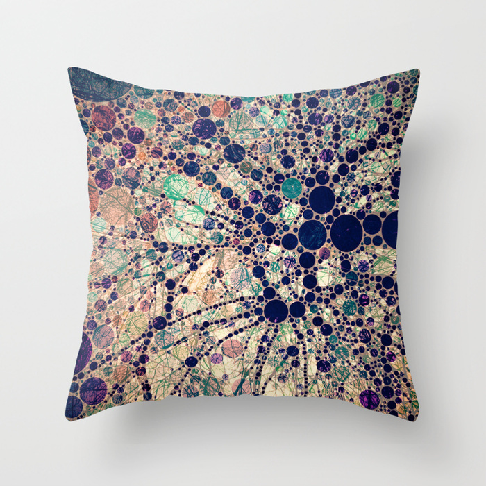 Society6★クッション★Colorful tree loves you and me.