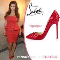 Christian Louboutn Red Pigalle spikes