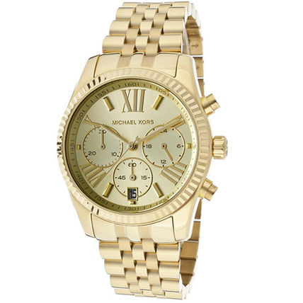 Michael Kors アナログ時計 ★Unisex★Michael Kors Lexington Chronograph MK5556(2)