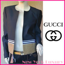 GUCCI★グッチ★素敵!Black&Gold Jacket