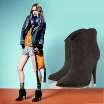 【在庫一掃セール】ANACONDA Mock Snakeskin Boots【UK3】