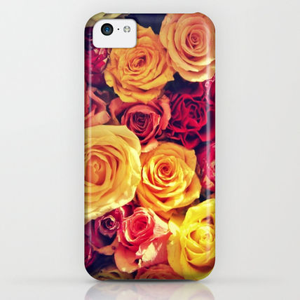 Society6 iPhone・スマホケース Society6 ケース flowers by Rachel Pagdin